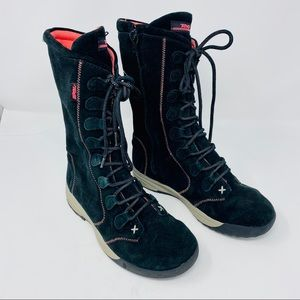 Teva Lace-up Boots (Size 5)
